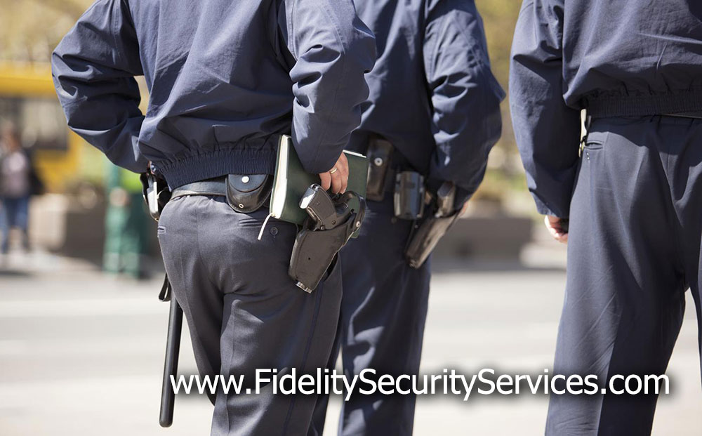 armed security guards los angeles
