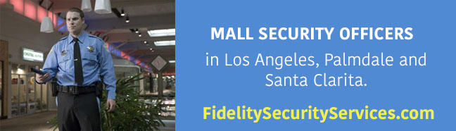 mall security officers in los angeles