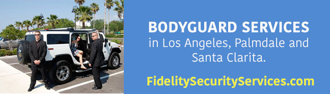 bodyguard service in los angeles