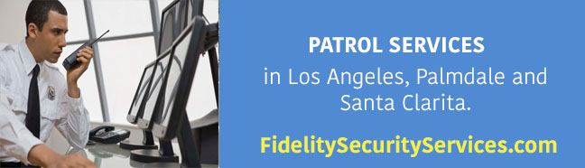 Patrol services in Los Angeles