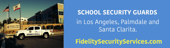 school security guards in los angeles