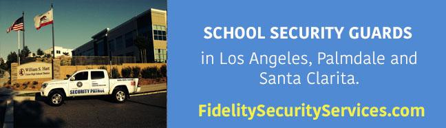 school security guards in los angeles