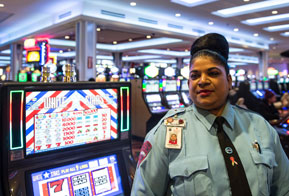 Security guards for Casino