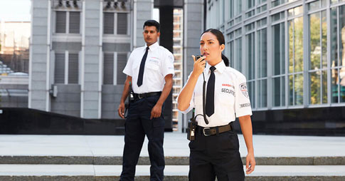 Security guards for Financial center