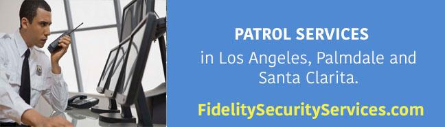 Patrol services in Los Angeles